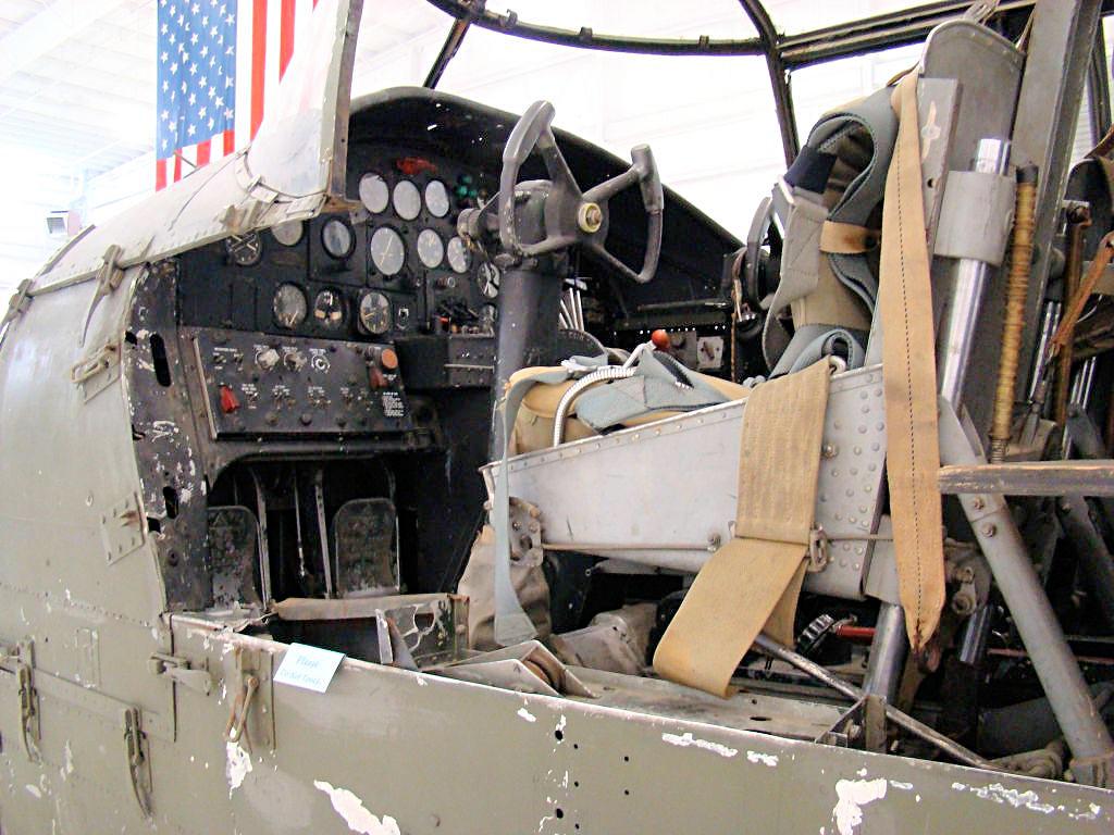 B-25 Cockpit  B25 Cockpit
